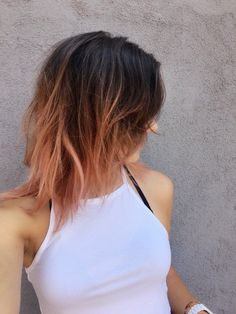 Side View | Rose Gold Hair At Home | The Quick & Easy Hair Trend You'll Fall In Love With This Fall!