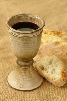 He who eats My flesh and drinks My blood abides in Me, and I in him. John 6:56 (NASB)