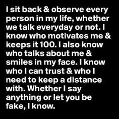 YEP!! I am wiser and know more than you think. Truthfully I know so much I could destroy you and your reputation and expose the REAL you. But I choose to sit back and keep adding to my files. You will reap what you sow. But if EVER you cross me.. I will make you regret that DAY!