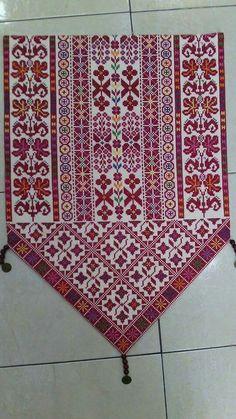 Traditional Palestinian cross stitch