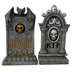 "Halloween Premium Tombstone - 14"""