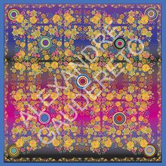 Almofada Flores Fundo Colorido - Tamanho 45x45cm
