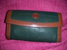 Cartera Para Dama Dooney And Bourke Vintage Verde Hm4 - $ 250.00 en MercadoLibre