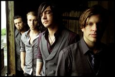 Three Days Grace- These guys have a way of composing the most instrumentally and lyrically simple music in a way that just hits you deep down inside.  They're so real and honest, and that's what's so appealing about their music.  That and, their lead singer has a highly addictive voice.