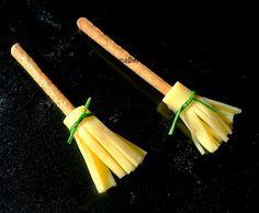 Pasteles de colores: Escobitas de queso