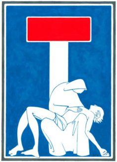 Street Art detournement Panneaux de signalisation 7