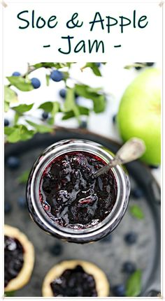 My Sloe Jam Recipes, Fruit Recipes, Vegan Recipes Easy, Crockpot Recipes, Canning Recipes, Sloe Berries, Apple Jam, Tart Taste, Honey Mustard Sauce