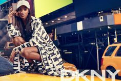 A$AP Rocky, Cara Delevingne and Jourdan Dunn pour la campagne DKNY 2014