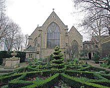 Garden Museum - Wikipedia, the free encyclopedia (was St Mary-at-Lambeth)