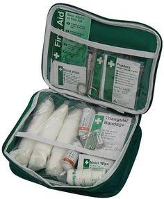 Safety First Aid K544 - Kit de primeros auxilios (en estuche flexible)