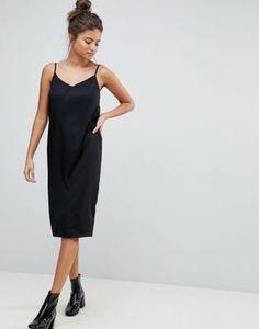 Image 1 of ASOS FULLER BUST Cami Midi Slip Dress