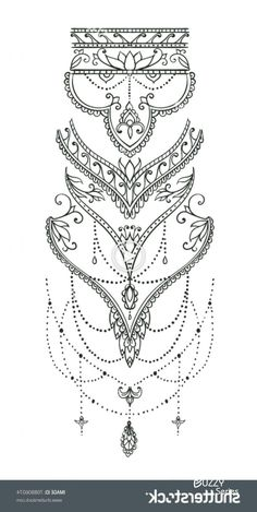 Beautiful mehndi pattern with curls and typical paisley pattern for tattoos . - Beautiful mehndi pattern with curls and typical paisley pattern for tattoos - Tattoos Mandalas, Henna Tattoos, Forearm Tattoos, Body Art Tattoos, Small Tattoos, Paisley Tattoos, Mehndi Tattoo, Henna Tattoo Sleeve, Henna Inspired Tattoos