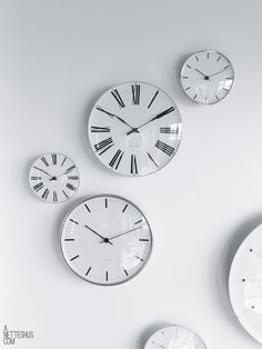 beautiful clocks from copenhagen www.anetteshus.com