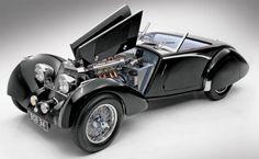 Squire 1 1/2 litros Drophead Coupe Córcega (1937)