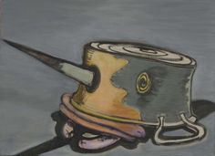 Ansel Krut - Saucepan With Spilled Sausages