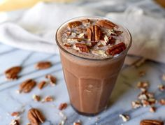Chocolate Pecan Pie Smoothie | The Beachbody Blogicon-communityicon-recipeicon-programsicon-nutritionicon-fitnessicon-weightlossicon-wellnesssearchchevron-downfacebookicon-mailpinterestinstagramtwitterarrow-downarrow-upcomment
