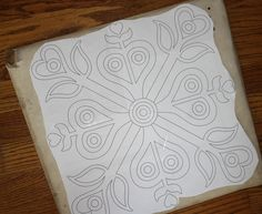 Free Wool Penny Rug Patterns | ll post a follow-up photo once I have it finished. I hope it turns ...