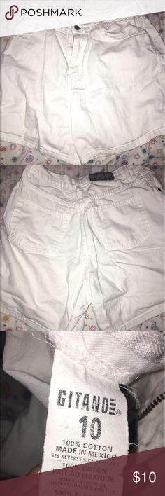 White shorts White shorts, good condition. Shorts Jean Shorts
