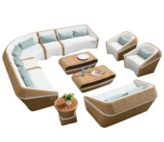 Outdoor Lounge Set - Higold Amiga