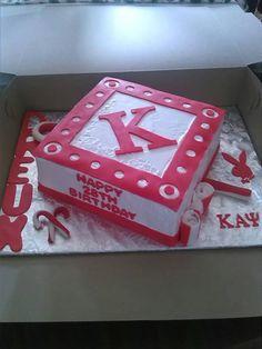 Kappa alpha psi  fraternity cake...