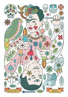 Ilustración realizada para el taller de Ricardo Cavolo en Estudio Santa Rita --- Illustration for the Ricardo Cavolo workshop in Estudio Santa Rita