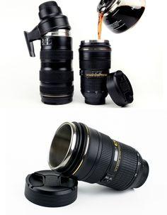 NIKON COFFEE MUG LENS -  I need this !!!