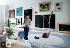 how to buy art  http://www.gq.com/entertainment/art-and-design/new-artists-chris-johanson-andrew-kuo-wes-lang#slide=1