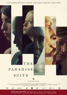 """Filmposter van de film """"The Paradise Suite"""". Vanaf 29 oktober 2015 in de Nederlandse bioscopen! Met Raymond Thiry als Maarten."""