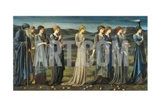 The Wedding of Psyche, 1895 Giclee Print by Edward Burne-Jones at Art.co.uk