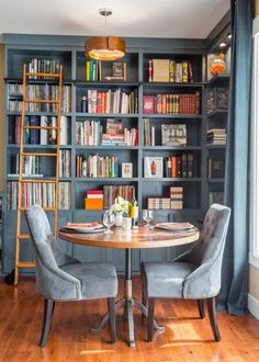 30 best Home Library Designs images on Pinterest | Home library ...