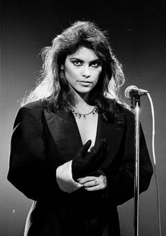 """Denise Matthews, known as Vanity, performs with the group Vanity 6 on the TV Show """"Solid Gold"""" in 1983. The former Prince protege died on Feb. 15 at the age of 57."""