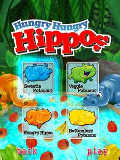 Smart Apps For Special Needs: Free App - Hungry Hungry Hippos
