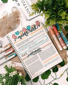 Bullet Journal Graphics, Bullet Journal Lettering Ideas, Bullet Journal Books, Bullet Journal Aesthetic, Bullet Journal School, Cute Notes, Pretty Notes, College Notes, School Notes