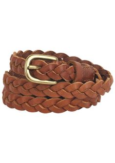 Braided belts can go with almost any outfit