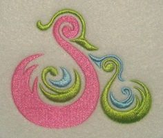 Mother with Baby Duck Embroidery Design | Apex Embroidery Designs, Monogram Fonts & Alphabets