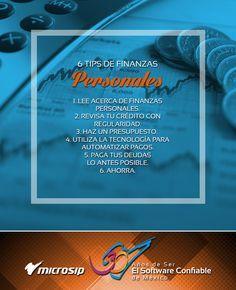 #TipsDeNegocios 6 tips de finanzas personales