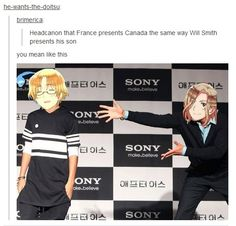 True Pictures - Search our So True memes, pictures, videos & more! Find funny but true memes that show just how hilarious life can be. Otaku, Hetalia Headcanons, Jenifer Lawrence, Hetalia Funny, Kaichou Wa Maid Sama, Fandoms, Canada, T 4, I Laughed