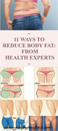 Reduce Body Fat: 11 Advice's From Health Experts