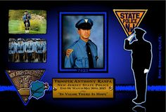 Officer Down, Monmouth County, All Hero, Fallen Heroes, State Police, Freedom Fighters, Blue Line, Law Enforcement, Good People