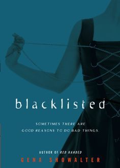The cover for BLACKLISTED, the second young adult novel in the Alien Huntress series.