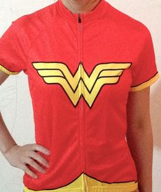 So want this - now, just need to bike more to justify the spend - Wonder Woman Custom Cycling Jersey