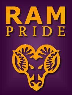 RAM PRIDE! West Chester West Chester University b19d0388d