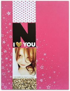 N - I love you by Rockermorsan at @studio_calico