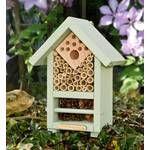Insectenhuis model vogelkast | Meer insectenhotels vind je op Thuisvergelijken.nl