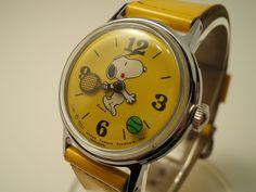 Snoopy tennis watch