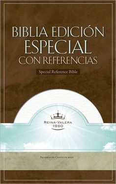 Spanish - RVR 1960 Special Reference Bible-White Bonded Leather Indexed