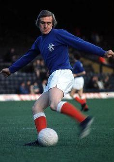 Colin Stein of Rangers in Rangers Football, Rangers Fc, Football Pictures, Football Players, Glasgow, Old Photos, Kicks, Running, 1960s