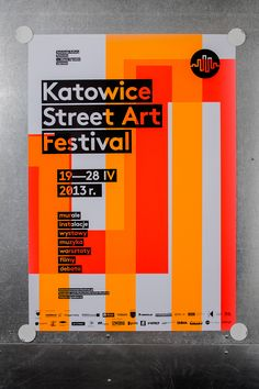 6 shapes / 6 basic fluo colors / 62 versions of poster / silkscreen / street art festival Event Poster Design, Creative Poster Design, Event Posters, Creative Posters, Graphic Design Posters, Graphic Design Inspiration, Poster Designs, Modern Graphic Design, Theatre Posters