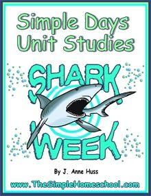 Simple Schooling Shark Week - Simple Schooling |  | Middle School Science | Unit StudiesCurrClick