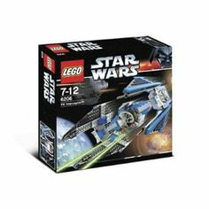 LEGO Star Wars: TIE Interceptor (6206) by LEGO. $84.99. Great addition to any Star Wars collection. Its arrow shape solar collector panels gave it a dagger like appearance. One of the fastest starfighters in the galaxy. Provides classic building enjoyment while sparking imaginative play for endless fun. Includes 212 pieces. LEGO Star Wars: TIE Interceptor (6206)
